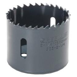 Greenlee / Textron - 825-2-1/4 - 2-1/4-Dia. Hole Saw for Metal, 1-5/8 Max. Cutting Depth, 4/6 Teeth per Inch