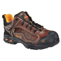 Weinbrenner Shoe - 804-4035 6W - 2H Men's Work Boots, Composite Toe Type, Leather Upper Material, Brown, Size 6W