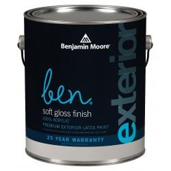 Benjamin moore 05431x001cc1521 exterior paint soft for Benjamin moore eco spec paint reviews