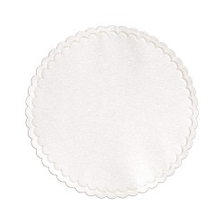 Hoffmaster - 876075 - Coaster, Cellulose, 4in x 4in, White, PK1000