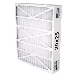 BestAir PRO - 5-2025-8-2 - 20x25x5 Air Cleaner Replacement Filter with MERV8; PK2