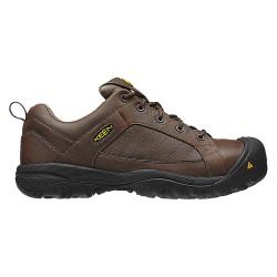 KEEN - 1011348 - Men's Work Boots, Steel Toe Type, Leather Upper Material, Brown, Size 7-1/2EE