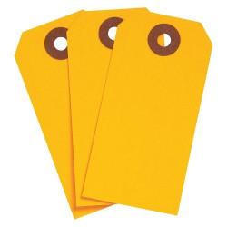 Brady - 102050 - Blank Tag, Fluorescent Orange, Height: 3-3/4 x Width: 1-7/8, 1000 PK
