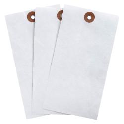 Brady - 102038 - Blank Tag, White, Height: 5-3/4 x Width: 2-7/8, 1000 PK
