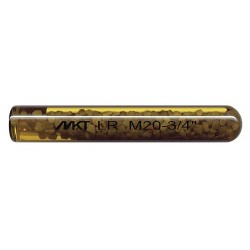 MKT Fastening - 3214000 - Glass Capsule, 7/8 x 11-3/4 In L, PK6