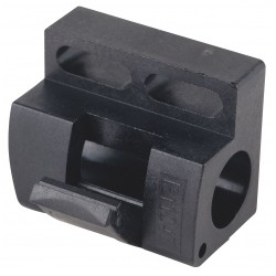 Ifm - E11521 - Snap Clamp, Polycarbonate, For Use With 8mm Dia. Proximity Sensor