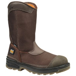 Timberland - 1059A - 11H Men's Work Boots, Composite Toe Type, Ballistic Nylon Upper Material, Brown, Size 12W
