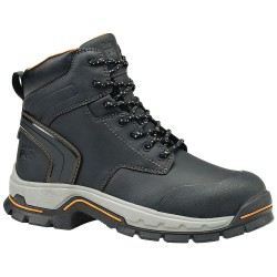 Timberland - 1064A - 6H Men's Work Boots, Alloy Toe Type, Microfiber Leather Upper Material, Black, Size 7M