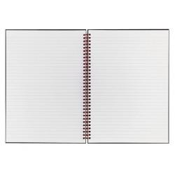 Black n' Red - JDKK67030 - Notebook, 11x8-1/2 In, Black