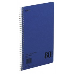 Acco Brands - MEA06544 - Notebook, 9-1/2 x 6 In, Blue