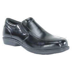 Florsheim Work - FS2005-9.5D - 3H Men's Oxford Shoes, Steel Toe Type, Leather Upper Material, Black, Size 9-1/2D