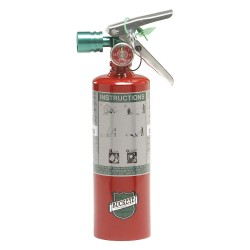 Buckeye Fire Equipment - 70258 - Clean Agent Fire Extinguisher with 2.5 lb. Capacity and 8 to 10 sec. Discharge Time