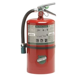 Buckeye Fire Equipment - 71100 - Clean Agent Fire Extinguisher with 11 lb. Capacity and 8 to 10 sec. Discharge Time