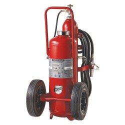 Buckeye Fire Equipment - 31320 - Dry Chemical, BC Class Wheeled Fire Extinguisher with 125 lb. Capacity and 55 sec. Discharge Time
