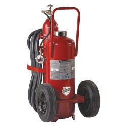 Buckeye Fire Equipment - 31120 - Dry Chemical, ABC Class Wheeled Fire Extinguisher with 125 lb. Capacity and 44 sec. Discharge Time