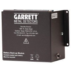 Garrett Metal Detectors - 2225410 - Battery Backup Module, Fast Recharge