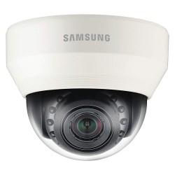 Samsung - SND-5084R - WiseNet III Network IR Dome Camera, 1.3MP, HD(720p), Motorized Simple Focus 2.8x (3-8.5mm), H.264/MJPEG, 130dB WDR, True D/N, SD/SDHC/SDXC, Built-in Mic, Two-Way Audio, 12VDC/PoE