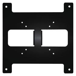 Samsung - SBP-B-M12 - M12 Connectors Back Panel for SRM-872 Mobile Application, Black