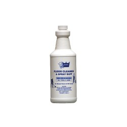 Werth Sanitary Supply - 120600 - 1 qt. Floor Cleaner and Spray Buff, 12 PK