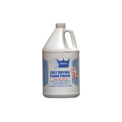 Werth Sanitary Supply - 120220 - 1 gal. Floor Finish, 4 PK