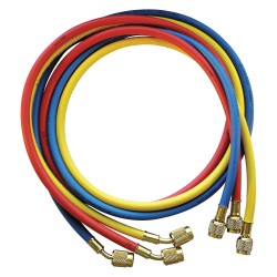 JB Industries - CCLS5-60 - Manifold Hose Set, 60 In, Red, Yellow, Blue