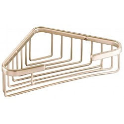 Other - 01-1486SSN - 5D x 8-1/4W x 1-5/8H Satin Nickel Stainless Steel Corner Shower Basket