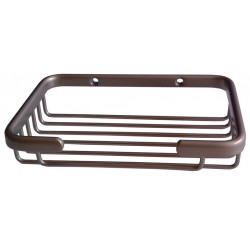 Other - 01-1483MSS - 4-1/4D x 6-1/4W x 1-5/8H Polished Stainless Steel Shower Basket
