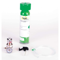 Sensit Technologies - 881-00053 - Calibration Kit, GasType HCN, 34L, Aluminum