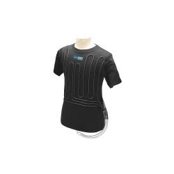 Coolshirt Systems - BCW-L - Cooling Vest, Cotton, Black, L, Fits Chest Size 42 to 44