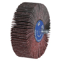 Pferd - 45450 - 3 Locking Flap Wheel, 1 Width, Coated, 240 Grit, Aluminum Oxide, Very Fine
