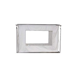 Hepacart - ENCLOSURE WINDOWS - Visibility Option, For Use With Mfr. No. HC55U, HC74U, HC74UX