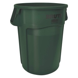 Rubbermaid - 1779741 - Brute Round Containers, 44 gallon, Dark Green