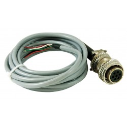 Red Lion Controls - CCBRPG02 - Cable 7-Pin connector with 10 ft. Cable, For Use With ZDH and ZUK