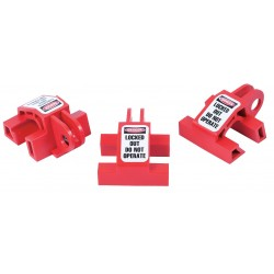 Zing Enterprises - 7111 - Multi-pole Circuit Breaker Lockout, 120/277, Slide-On Lockout Type, Recycled Plastic