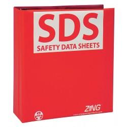 Zing Enterprises - 6031 - SDS Safety Data Sheets Binder, English, 2-1/2 Ring Size