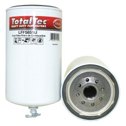 Luberfiner - LFF5851U - Fuel Filter, Spin-On Filter Design