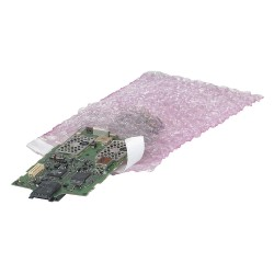 Other - 36DY36 - Pink Color Bubble Bags, 17-1/2 Length, 15 Width, 3/16 Bubble Height