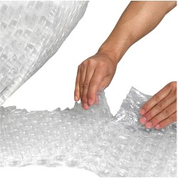 Other - 36DY59 - Perforated Bubble Roll, 188 ft., Clear, PK4