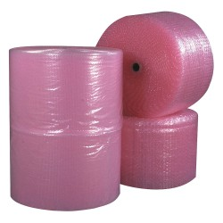 Other - 36DY63 - Perforated Bubble Roll, 250ft., Pink, PK4