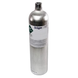 Draeger - 4594607 - Hexane Calibration Gas, 17L Cylinder Capacity