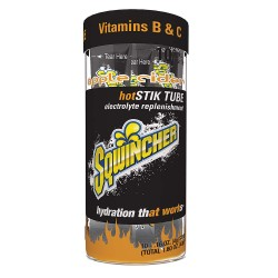 Sqwincher - 060300-AC - Hot Electrolyte Drink Mix, Powder Concentrate, Regular, 10 Package Quantity