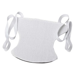 DMI / Briggs Healthcare - 640-8140-0055 - 14 x 12 x -1/2 Terry Cloth Sock Aid, White