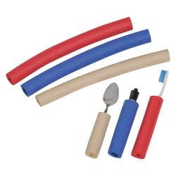 DMI / Briggs Healthcare - 641-6690-0182 - 12 x 1 x 1 Foam Foam Tubing Tan/Red/Blue