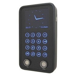 TimePilot - 4520 - Time Clock, Digital, LCD