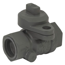 Jomar Valve - 240-004P - Brass FNPT x FNPT Gas Ball Valve, Locking Wing, 3/4 Pipe Size