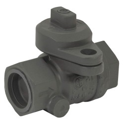 Jomar Valve - 240-005P - Brass FNPT x FNPT Gas Ball Valve, Locking Wing, 1 Pipe Size