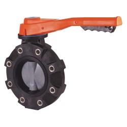 Hayward Industries - BYV11060A0VLI00 - Hayward BYV11060A0VLI00, 6' Butterfly Valve w/PVC Body-Lugged;