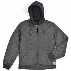Richlu - 243511-S-BLK - Womens Freezer Jacket, Polyester, Black, S