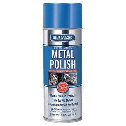 Blue Magic - 230-06 - Shine Metal Polish, 10 Oz., Aerosol