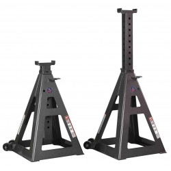 Gray - 10THF - 24 Pin Style Vehicle Stands; Lifting Capacity (Tons): 10
